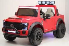 Детский электромобиль Ford Super Duty (A888MP) красный