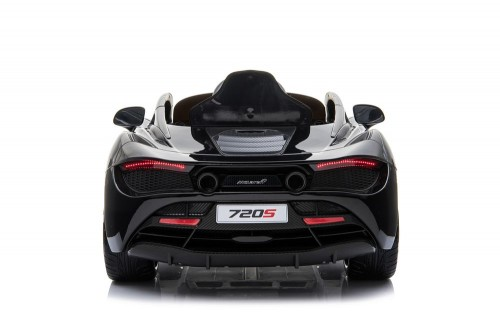 Детский электромобиль McLaren 720S черный глянец