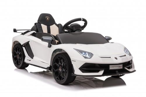 Детский электромобиль Lamborghini Aventador SVJ (A333MP) белый