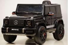 Детский электромобиль Mercedes-Benz G63 (K999KK) черный глянец