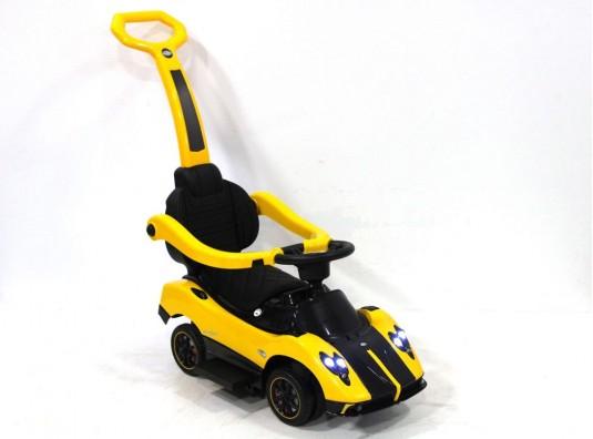 Детский толокар A002AA-H желтый