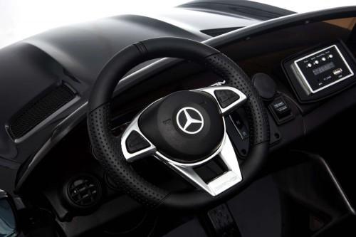 Детский электромобиль Mercedes-Benz GT-R черный глянец