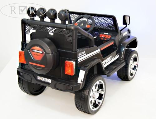 Детский электромобиль T008TT 4WD черный