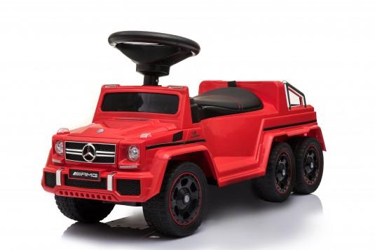 Детский толокар Mercedes-Benz G63 (A010AA-D) красный