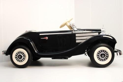 Детский электромобиль Mercedes-Benz Typ 540K (M111MM) черный глянец