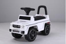 Детский толокар Mercedes JQ663 (G63) белый-кожа