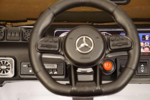 Детский электромобиль Mercedes-Benz G63 (K999KK) белый