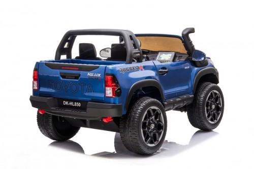 Детский электромобиль DK-HL850 Toyota Hilux синий глянец
