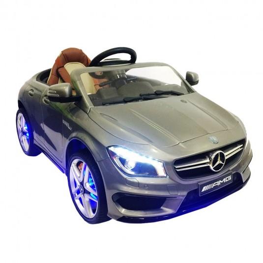 Детский электромобиль Mercedes-Benz CLA 45 (А777АА) серебристый
