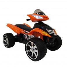 Детский электроквадроцикл Е005КХ оранжевый