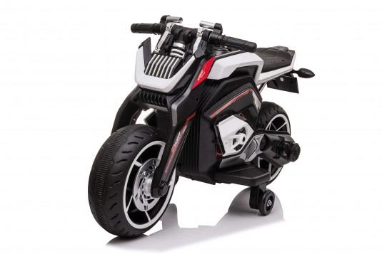 Детский электромотоцикл X111XX белый