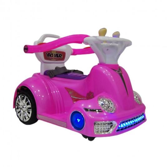 Детский электромобиль-ходунок 1688 розовый