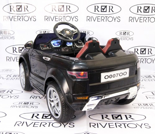 Детский электромобиль O007OO Vip черный