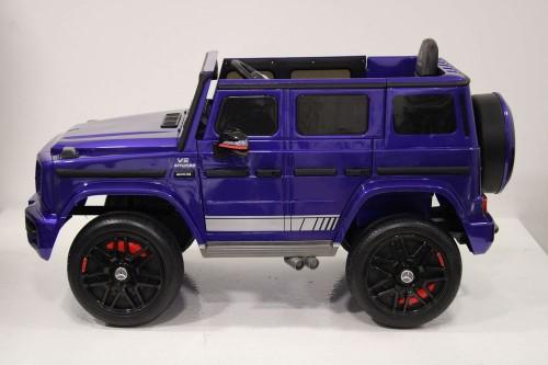 Детский электромобиль Mercedes-Benz G63 (K999KK) синий глянец