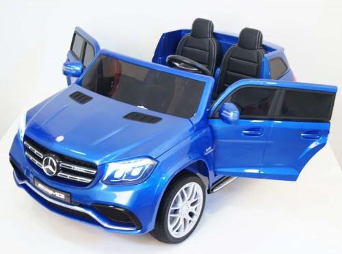 Детский электромобиль Mercedes-Benz GLS63 4WD (HL228) синий глянец