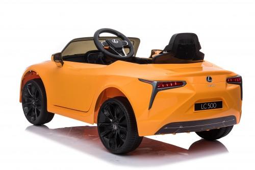 Детский электромобиль Lexus LC 500 (JE1618) желтый