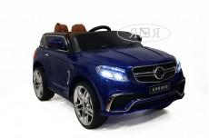 Детский электромобиль Е009KX синий глянец