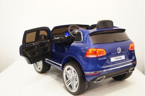 Детский электромобиль Volkswagen Touareg синий глянец