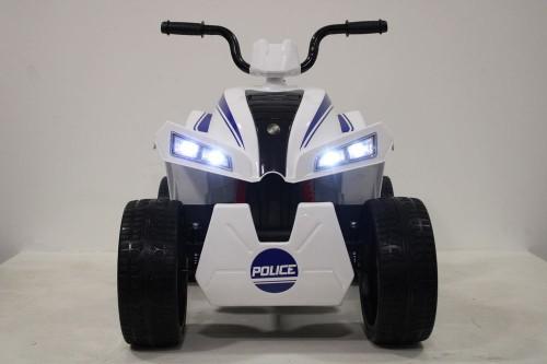 Детский электроквадроцикл T555TT белый паук