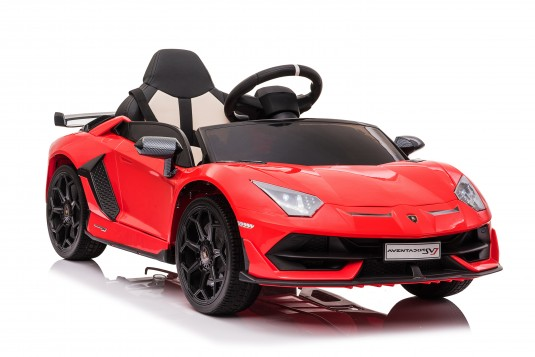 Детский электромобиль Lamborghini Aventador SVJ (A333MP) красный