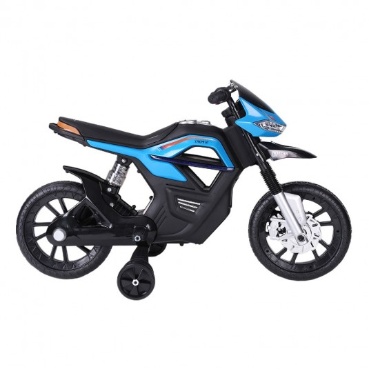 Детский мотоцикл RALLY JT5158 синий