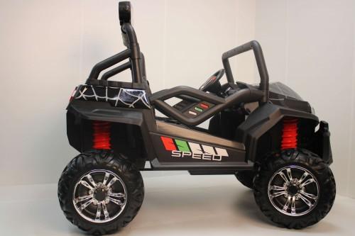 Детский электромобиль T888TT 4WD 24V черный Spider