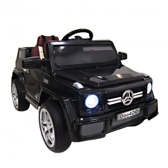Детский электромобиль О 004 ОО Vip черный глянец