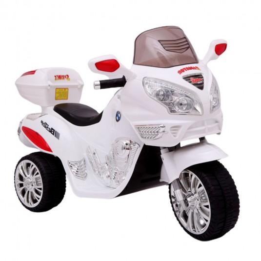 Детский электромотоцикл Moto HJ 9888 белый