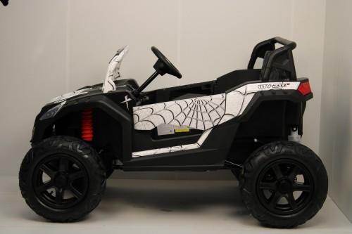 Детский электромобиль M222MM белый Spider