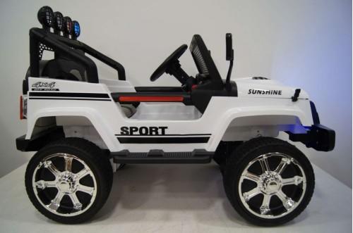 Детский электромобиль T008TT 4WD белый
