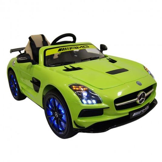 Детский электромобиль А333АА зеленый VIP