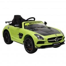 Детский электромобиль А333АА зеленый VIP-CARBON