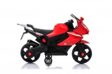 Детский электромотоцикл S602 красный