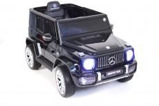 Детский электромобиль Т999ТТ черный глянец