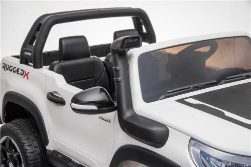 Детский электромобиль DK-HL850 Toyota Hilux белый