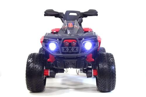 Детский электроквадроцикл К111КК красный