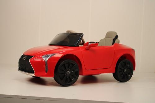 Детский электромобиль Lexus LC 500 (JE1618) красный