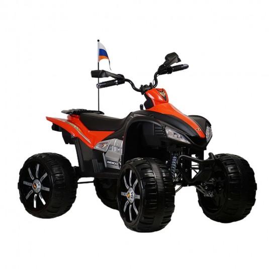 Детский электроквадроцикл Р555РР красный