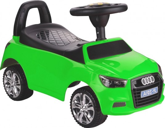 Детский толокар JY-Z01A MP3 зеленый