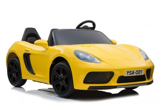 Детский электромобиль Т911ТТ желтый глянец