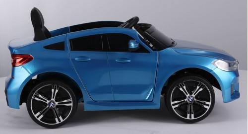 Детский электромобиль BMW6 GT (JJ2164) синий глянец