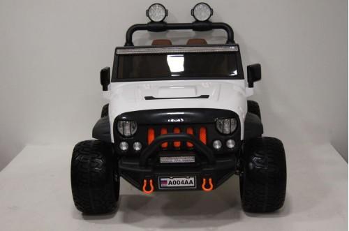 Детский электромобиль А004АА белый