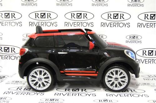Детский электромобиль Mini Cooper (JJ2258) черный