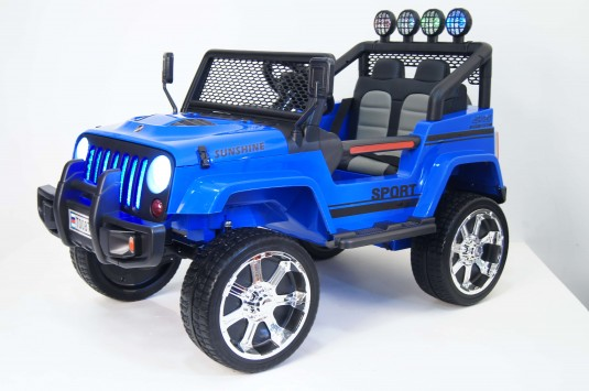 Детский электромобиль T008TT синий