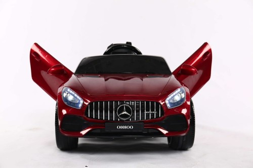 Детский электромобиль О008ОО Mercedes-Benz GT вишневый глянец