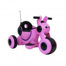 Детский электромотоцикл HL300 розовый