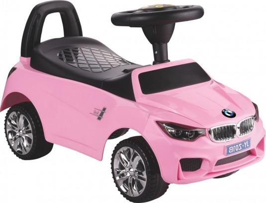 Детский толокар JY-Z01B розовый