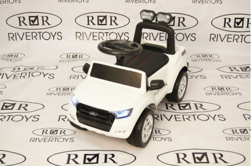 Детский толокар Ford Ranger DK-P01 белый