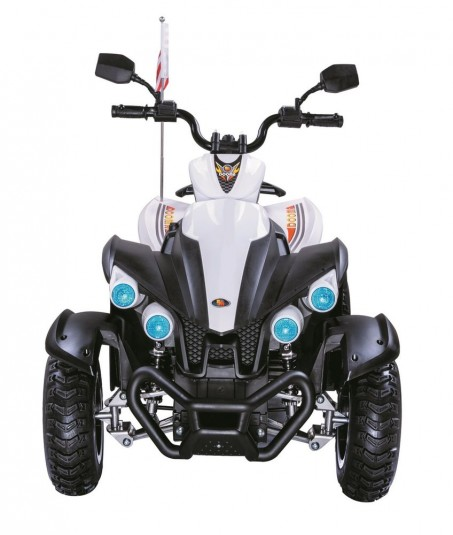 Детский электроквадроцикл Р222РР белый