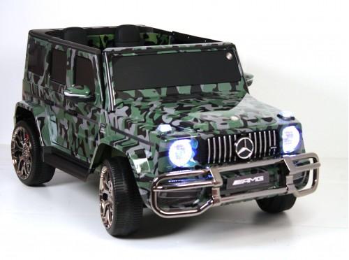 Детский электромобиль Mercedes-AMG G63 4WD (S307) камуфляж